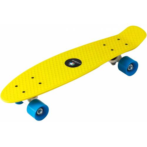 L.A. Sports Skateboard »Kinder Skateboard Mini Cruiser Board«, gelb