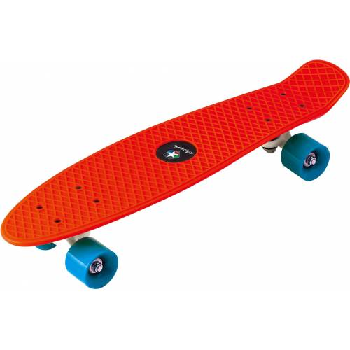 L.A. Sports Skateboard »Kinder Skateboard Mini Cruiser Board«, rot