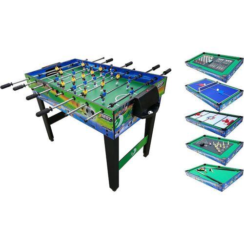 Best Sporting Kickertisch »Multifunktionstisch 10-in-1 122 x 61 x 82,5cm«