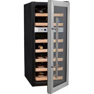 Caso Getränkekühlschrank WineDuett 21, 80,5 cm hoch, 34,5 cm breit, Energieeffizienzklasse B