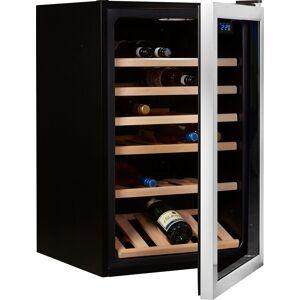 Hanseatic Weinkühlschrank 23538138 SC-130W, für 30 Standardflaschen á 0,75l, Energieeffizienzklasse A+