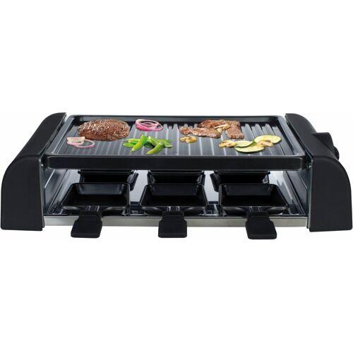 MIA Raclette RG 8174, 6 Raclettepfännchen, 1000 W