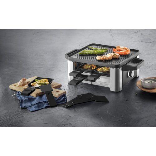 WMF Raclette LONO for 4, 4 Raclettepfännchen, 870 W