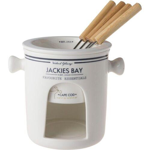 JACKIES BAY Fondue , 1 Fonduegabeln, 0,40 l, inkl. Fonduegabel