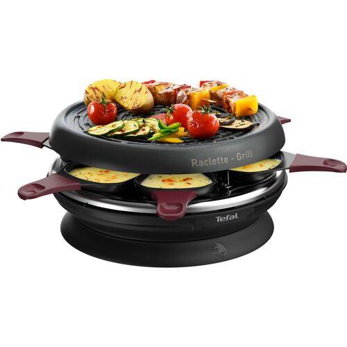 Tefal Raclette RE1820 Neo Invent, 6 Raclettepfännchen, 850 W