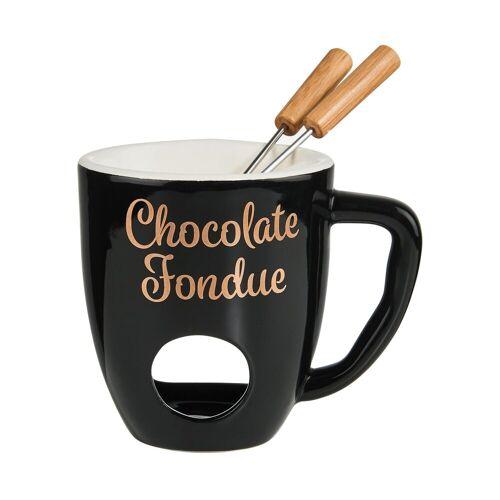 BUTLERS Fondue CHOCOLATE FONDUE Tasse mit 2 Gabeln