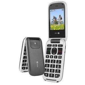 Doro Handy »PhoneEasy 613, Graphit-Weiß«, Anthrazit