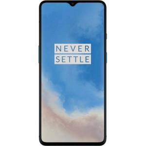 OnePlus 7T Smartphone (16,64 cm/6,55 Zoll, 128 GB Speicherplatz, 48 MP Kamera), glacier blue