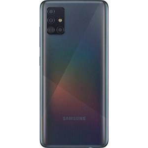 Samsung Galaxy A51 Smartphone (16,4 cm/6,5 Zoll, 128 GB Speicherplatz, 48 MP Kamera), prism crush black