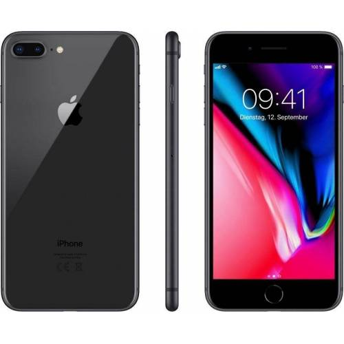 "Apple iPhone 8 Plus 5,5"" 256 GB iPhone 8 Plus (13,9 cm/5,5 Zoll, 256 GB Speicherplatz, 12 MP Kamera), grau"