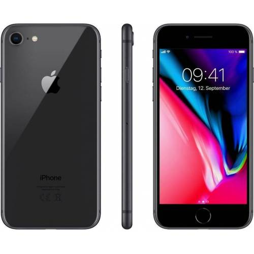 "Apple iPhone 8 4,7"" 64 GB iPhone 8 (11,9 cm/4,7 Zoll, 64 GB Speicherplatz, 12 MP Kamera), grau"