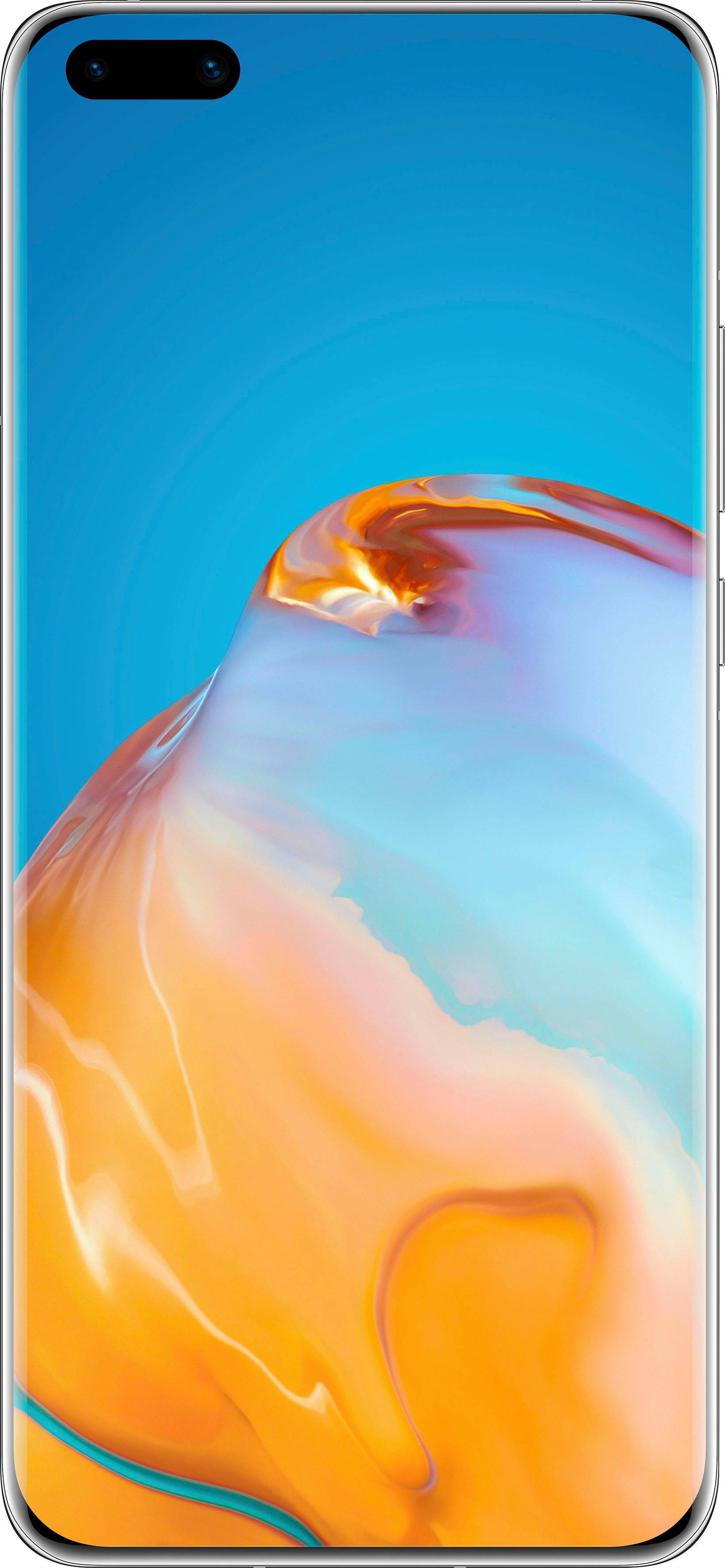 Huawei P40 Pro+ 5G Smartphone (16,7 cm/6,58 Zoll, 512 GB Speicherplatz, 50 MP Kamera), white