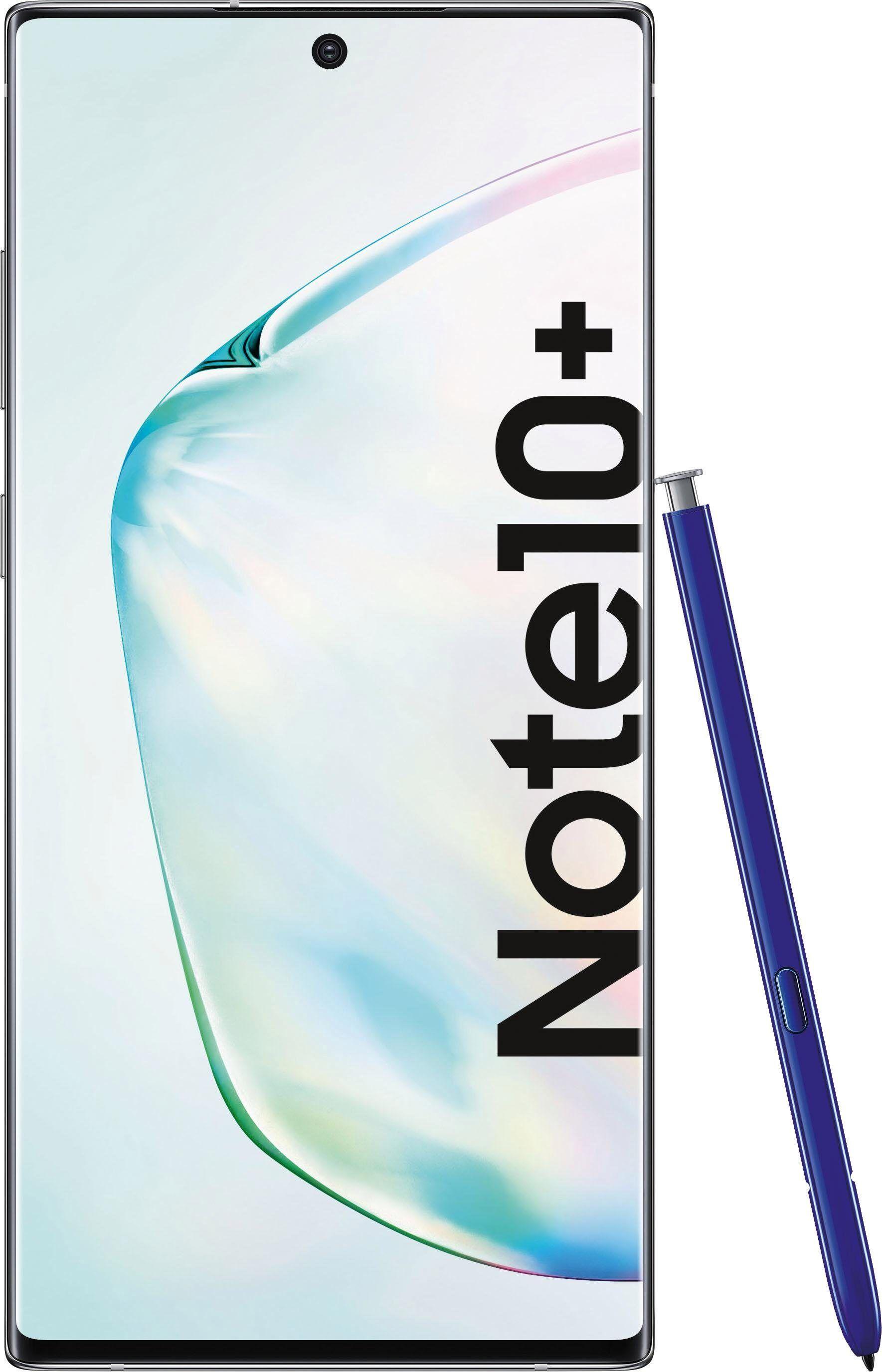 Samsung Galaxy Note10 Plus - 256 Smartphone (17,16 cm/6,8 Zoll, 256 GB Speicherplatz, 12 MP Kamera), aura glow