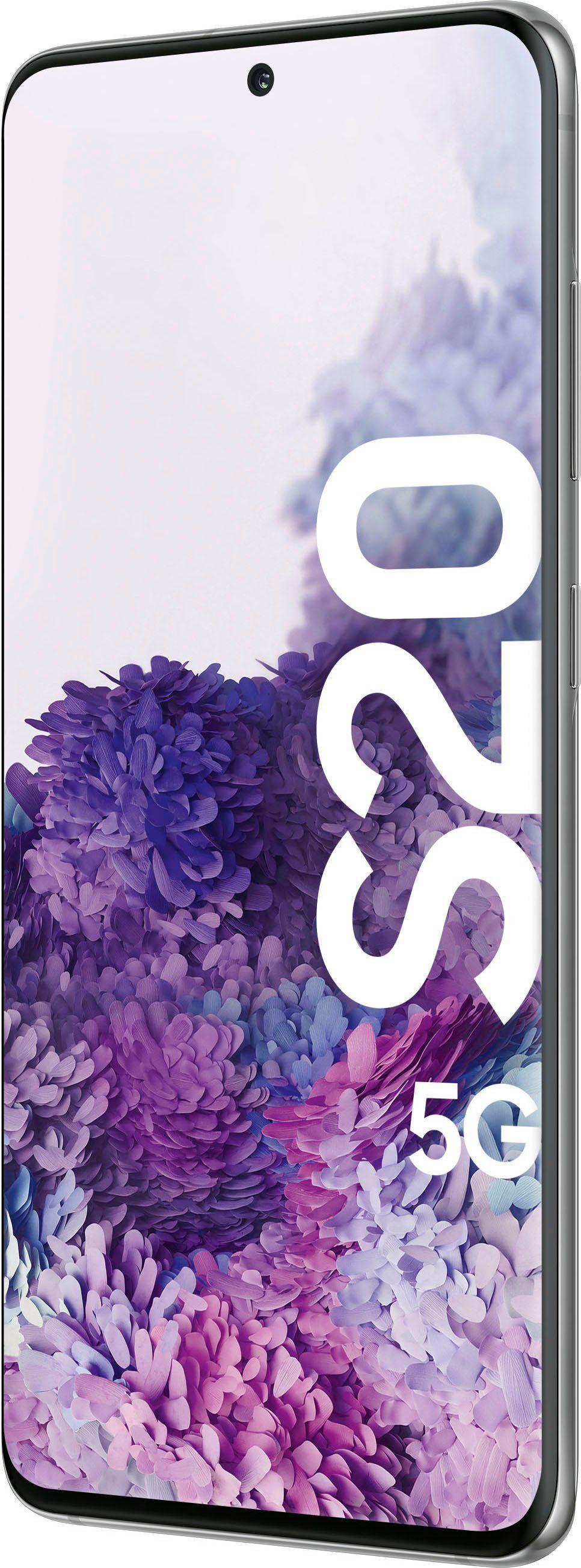 Samsung Galaxy S20 5G Smartphone (15,83 cm/6,2 Zoll, 128 GB Speicherplatz, 12 MP Kamera), Cosmic Gray