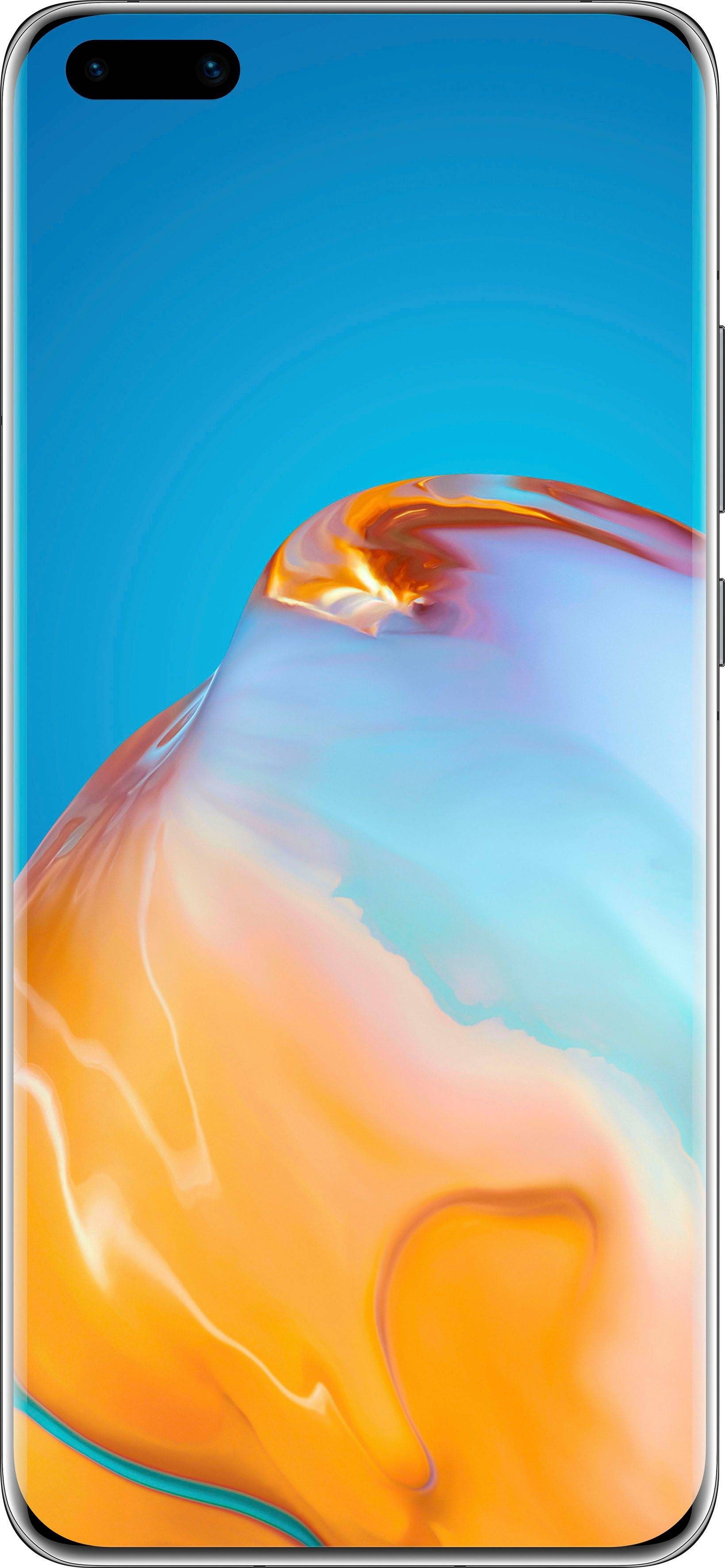 Huawei P40 Pro+ 5G Smartphone (16,7 cm/6,58 Zoll, 512 GB Speicherplatz, 50 MP Kamera), black