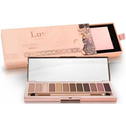 Luvia Cosmetics Lidschatten-Palette »Endless Nude Shades Vol.1«, Vegane Lidschatten-Palette