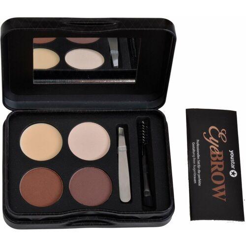 youstar Make-up Set »Eyebrow Kit«, 9-tlg., Augenbrauen Make up-Set