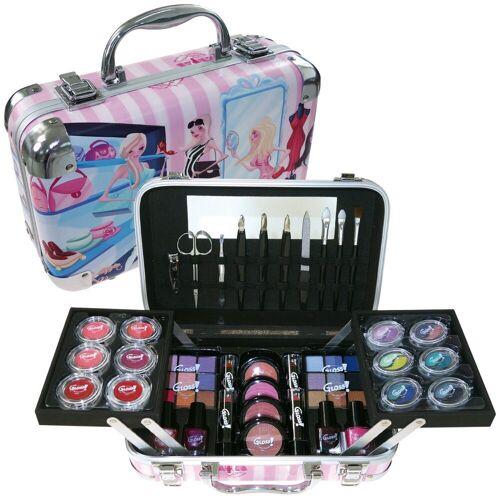 GLOSS! Make-up Set, mit u.a. Lipgloss und Lidschatten
