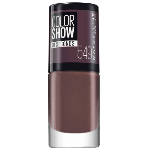 MAYBELLINE NEW YORK Nagellack »ColorShow Nagellack«, Nr. 549 midnight taupe