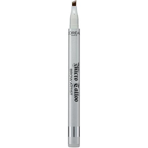 L'ORÉAL PARIS Augenbrauen-Stift »Brow Artist Micro Tattoo«, Langanhaltender Microblading Eyebrows Tattoo-Effekt, Nr. 101 Blond