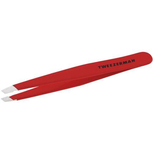 TWEEZERMAN Pinzette »Schräge Slant«, Rot