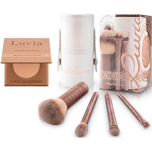 Luvia Cosmetics Kosmetikpinsel-Set »Mini Prime Vegan«, 4 tlg., in Reisegröße