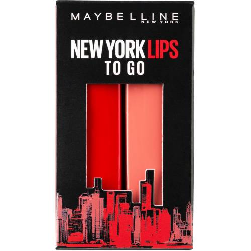 MAYBELLINE NEW YORK Lippenstift-Set »Made for All«, Nr. 373 Mauve for me und Nr. 385 Ruby for me