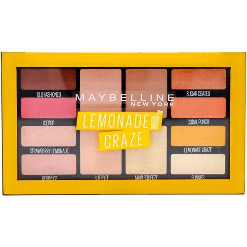 MAYBELLINE NEW YORK Lidschatten-Palette »Lemonade Bar«, Hochpigmentierte Farben
