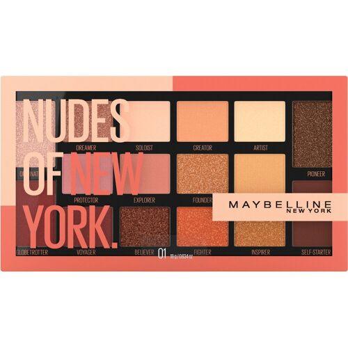 MAYBELLINE NEW YORK Lidschatten-Palette »Nudes Of New York«