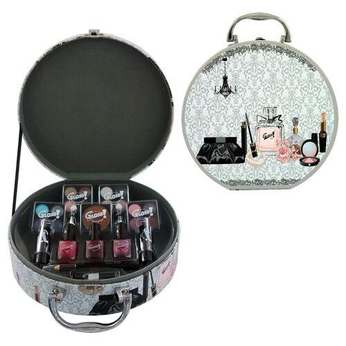 GLOSS! Make-up Set, 25-teilig mit u.a. Lippenstift und Nagellack