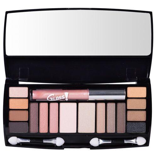GLOSS! Make-up Set »19-teilige«, mit Lidschatten und Lipgloss