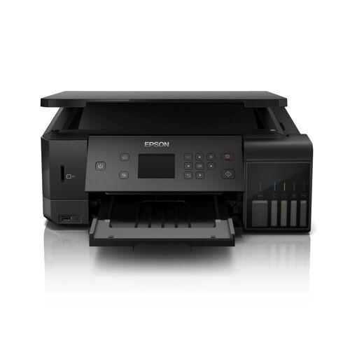 Epson EcoTank ET-7700 A4 Drucker »Farbe, USB, Wifi, 3in1«, schwarz