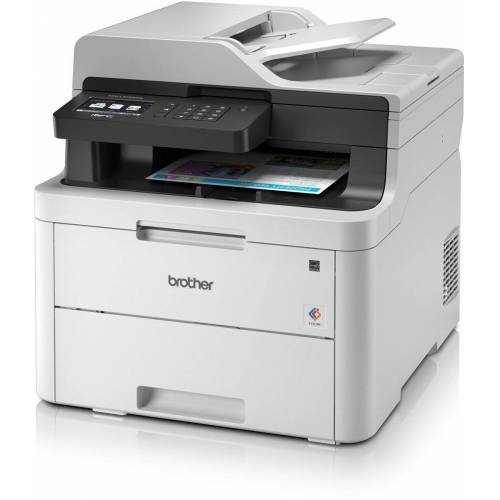 Brother Farblaser-Drucker »MFC-L3730CDN 4in1 Multifunktionsdrucker«, Grau