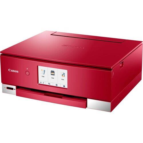 Canon PIXMA TS835 Multifunktionsdrucker, (WLAN (Wi-Fi), rot