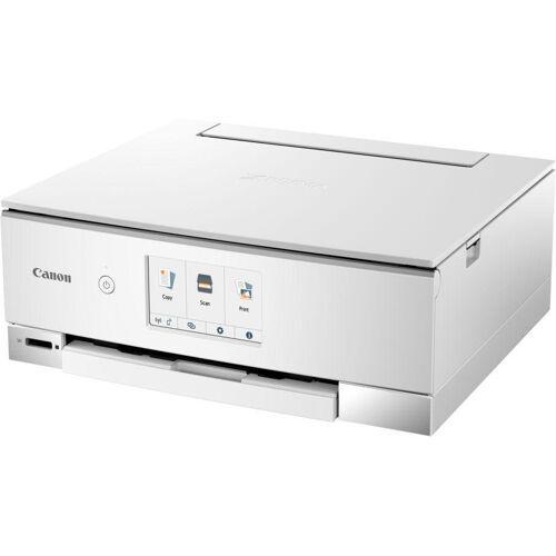 Canon PIXMA TS835 Multifunktionsdrucker, (WLAN (Wi-Fi), weiß