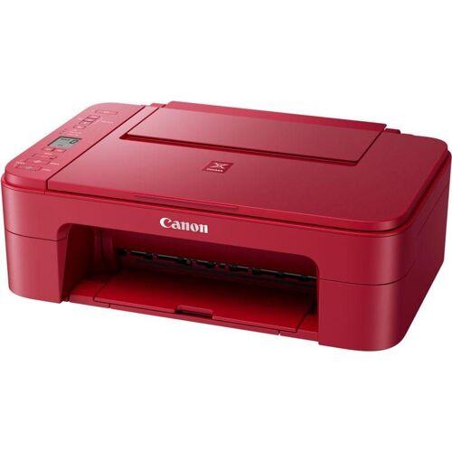 Canon PIXMA TS335 Multifunktionsdrucker, (WLAN (Wi-Fi), rot