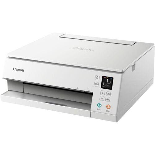 Canon PIXMA TS635 Multifunktionsdrucker, (WLAN (Wi-Fi), weiß