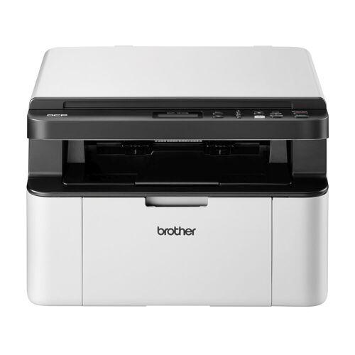 Brother Kompaktes 3-in-1 Multifunktionsgerät mit WLAN Laserdrucker, (WLAN (Wi-Fi)