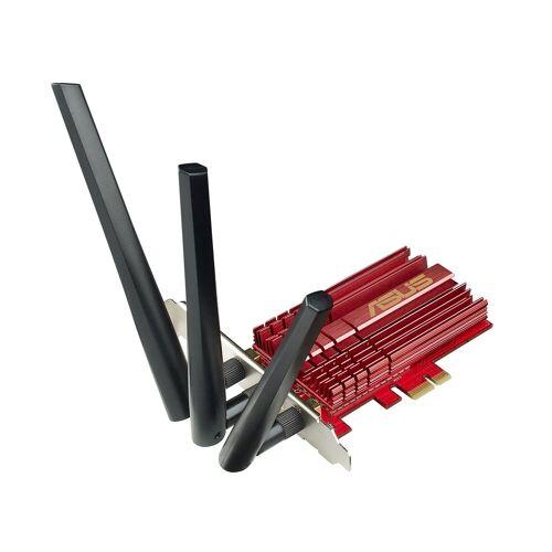 Asus PCE-AC68 »WLAN-Karte«, schwarz/rot