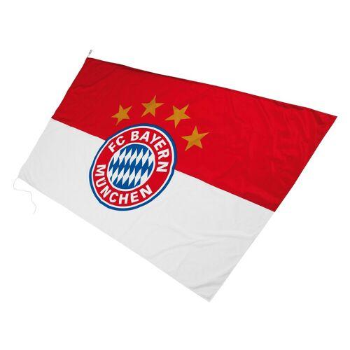 FC Bayern Fahne »Hissfahne mit Logo«