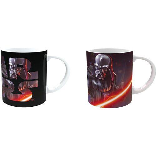 Joy Toy Tasse »Star Wars - Darth Vader Magic-Mug Keramiktasse«