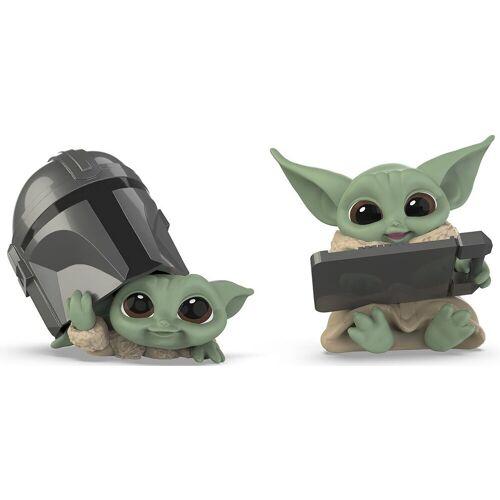 Hasbro Spielfigur »Star Wars: The Mandalorian - THE CHILD - BABY YODA - Figuren mit Helm und Tablet«, (2-tlg)