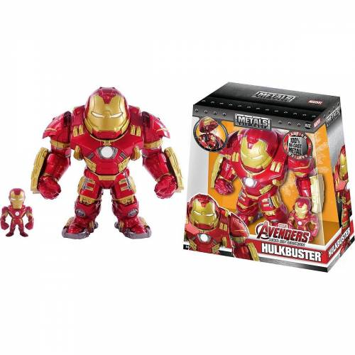 "JADA Spielzeug-Auto »Marvel Figure 6"" Hulkbuster+2"" Ironman«"