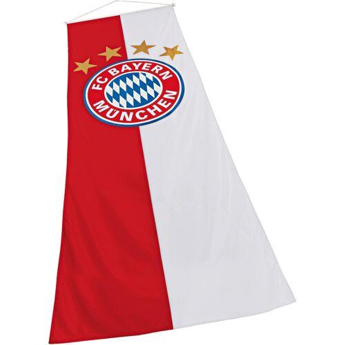 FC Bayern Fahne »Bannerfahne«, für Fahnenmasten