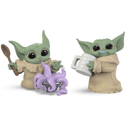 Hasbro Spielfigur »Star Wars: The Mandalorian - THE CHILD - BABY YODA - Figuren mit Milch und Tentakel-Suppe«, (2-tlg)