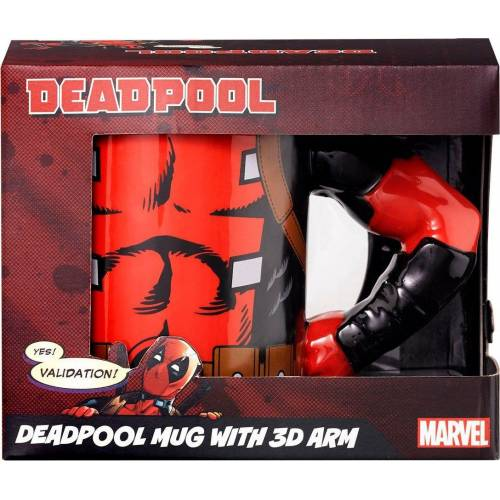 Tasse »Deadpool 3D Arm«