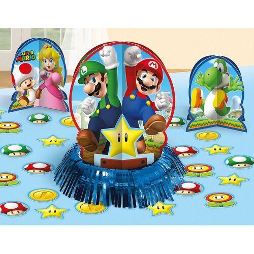 Amscan Papierdekoration »Tischdekorations-Set Super Mario, 23-tlg.«