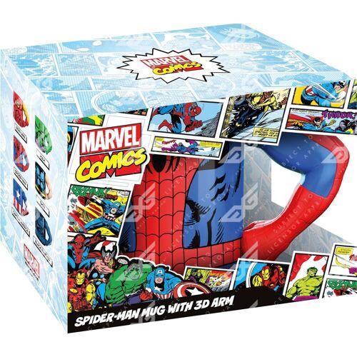 Tasse »Spiderman 3D Arm«