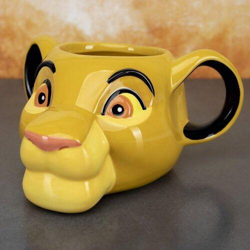 Disney The Lion King Tasse »Disney Simba 3D Becher«