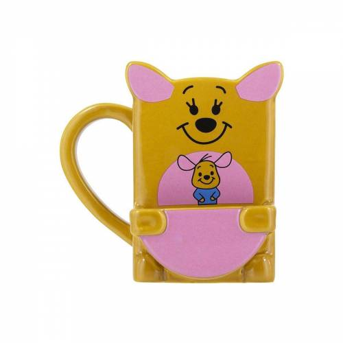 Disney Winnie Puuh Tasse »Winnie Pooh Kanga Becher mit Keks Fach«